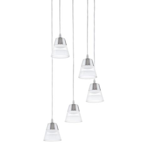 Eglo 94357 - LED luster PANCENTO 5xLED/4,5W/230V