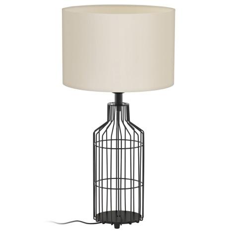 Eglo 94361 - Stolná lampa BOLLENGO 1xE27/60W/230V