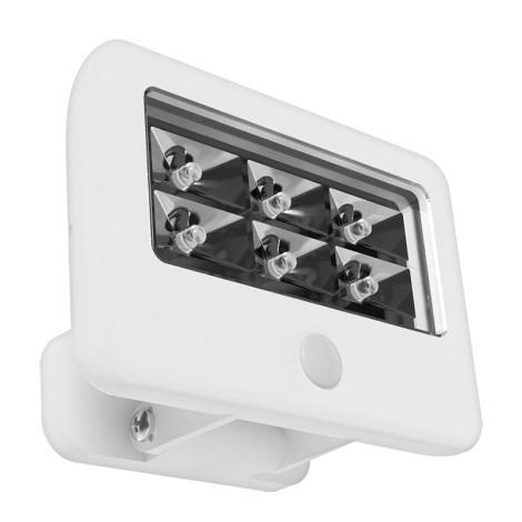 Eglo 94399 - LED vonkajšie senzorové nástenné svietidlo GAVELLO LED/0,5W/6xAAA