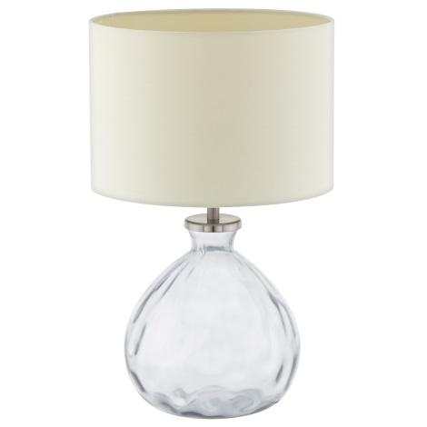 Eglo 94459 - Stolná lampa OSSAGO 1xE27/60W/230V