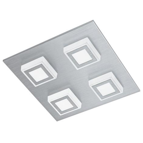 Eglo 94508 - LED stropné svietidlo MASIANO 4xLED/3,3W/230V