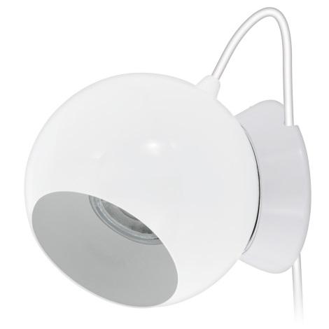 Eglo 94513 - Stolná / nástenná lampa PETTO 1 1xGU10-LED/3,3W/230V
