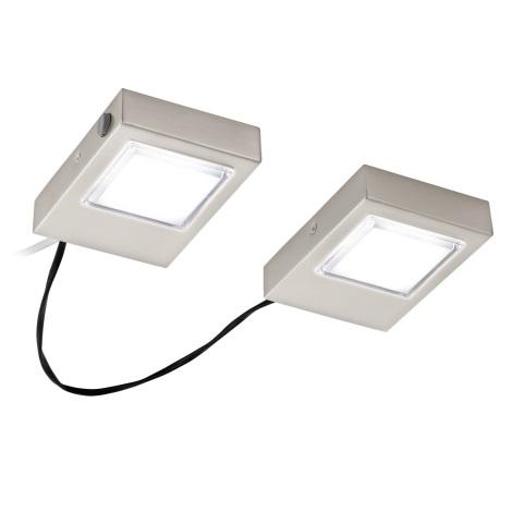 Eglo 94516 - SADA 2x LED Podlinkové svietidlo LAVAIO 2xLED/3,7W/230V