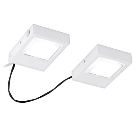 Eglo 94517 - SADA 2x LED Podlinkové svietidlo LAVAIO 2xLED/3,7W/230V