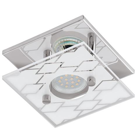 Eglo 94574 - LED stropné svietidlo DOYET 1xGU10-LED/3W/230V