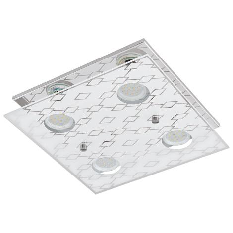 Eglo 94576 - LED stropné svietidlo DOYET 4xGU10-LED/3W/230V