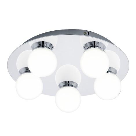 Eglo 94631 - LED Kúpeľňové svietidlo MOSIANO 5xLED/3,3W/230V