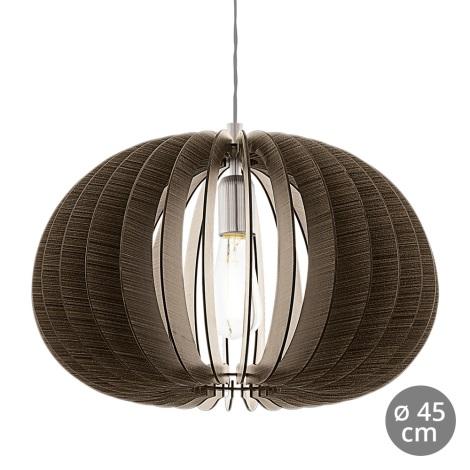 Eglo 94638 - Luster COSSANO 1xE27/60W/230V