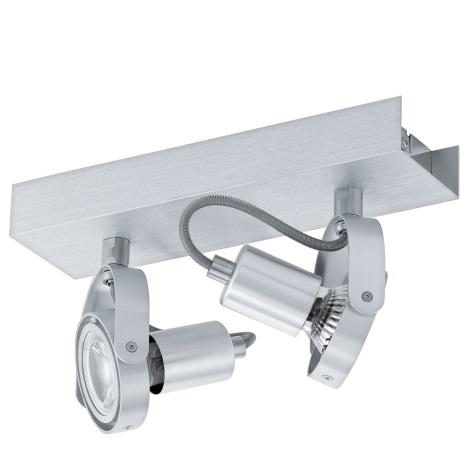 Eglo 94643 - LED Bodové svietidlo NOVORIO 2xGU10-LED/5W/230V