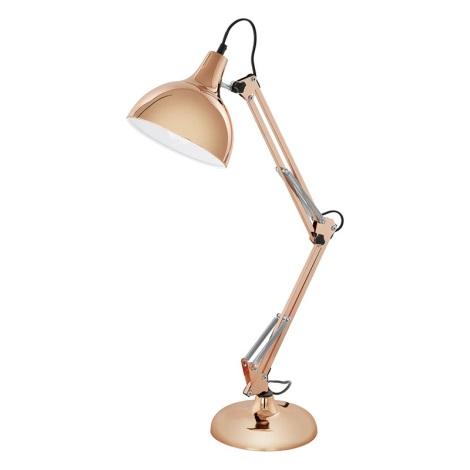 Eglo 94704 - Stolná lampa BORGILLIO 1xE27/60W/230V