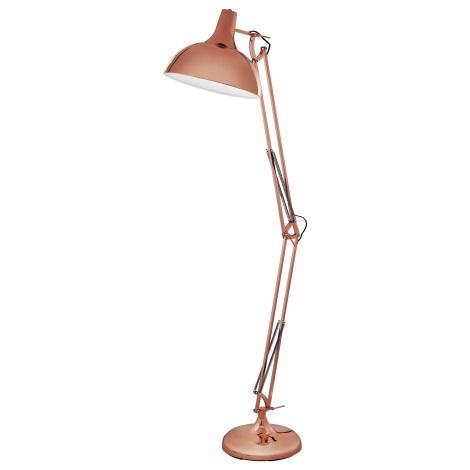 Eglo 94705 - Stojaca lampa BORGILLIO 1xE27/60W/230V