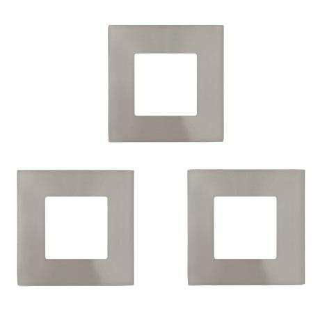 Eglo 94735 - SADA 3x LED Podhľadové svietidlo FUEVA 3xLED/2,7W/230V