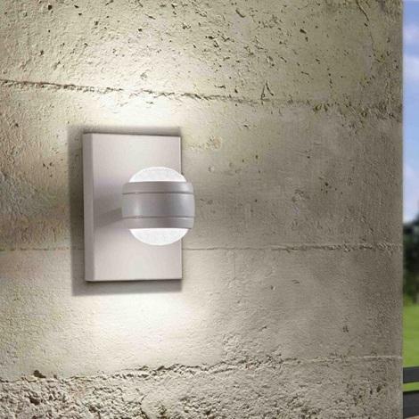 Eglo 94796 - LED Vonkajšie svietidlo SESIMBA 2xLED/3,7W/230V