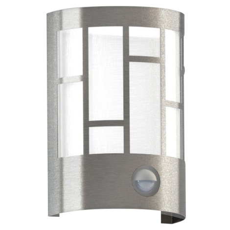 Eglo 94798 - Vonkajšie svietidlo se senzorom CERNO 1xE27/40W/230V