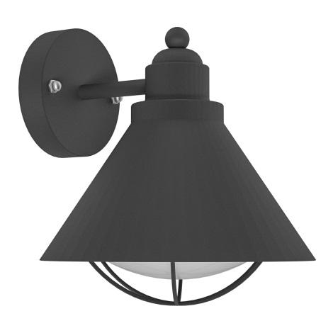 Eglo 94805 - Vonkajšie svietidlo BARROSELA 1xE27/40W/230V