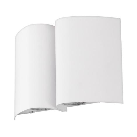 Eglo 94846 - Vonkajšie nástenné svietidlo SUESA 4xLED/2,5W/230V