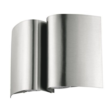 Eglo 94847 - Vonkajšie nástenné svietidlo SUESA 4xLED/2,5W/230V