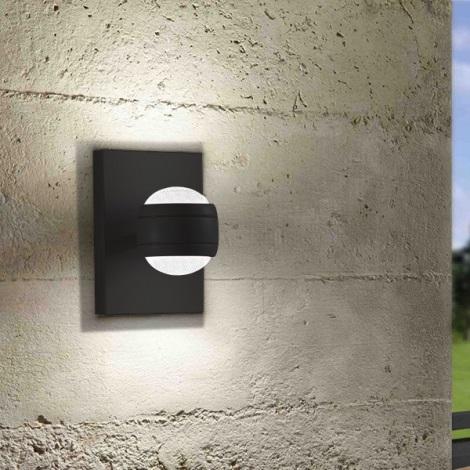 Eglo 94848 - LED Vonkajšie svietidlo SESIMBA 2xLED/3,7W/230V