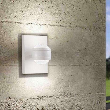 Eglo 94849 - LED Vonkajšie svietidlo SESIMBA 2xLED/3,7W/230V