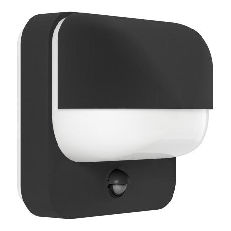 Eglo 94853 - Vonkajšie svietidlo s čidlom TRABADA 1xE27/40W/230V