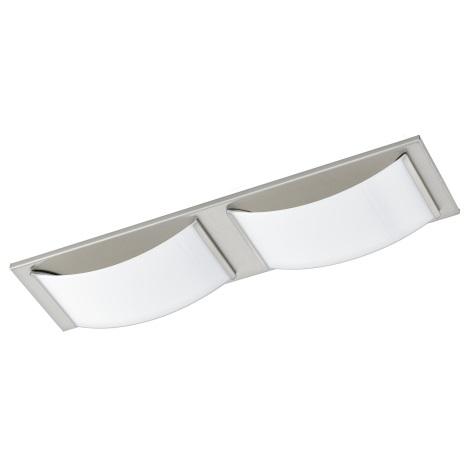 Eglo 94886 - LED kúpeľňové stropné svietidlo WASAO 1 2xLED/5,4W/230V