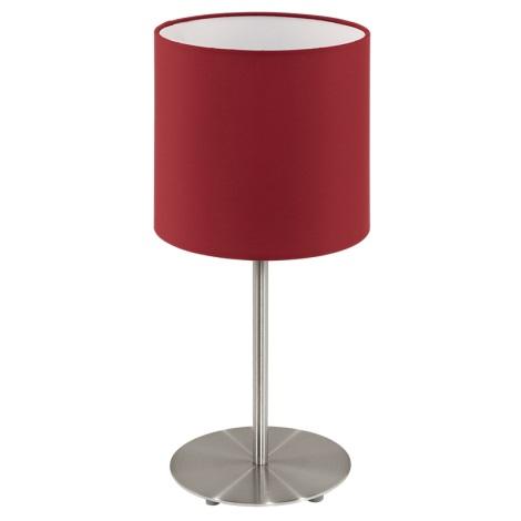 Eglo 94906 - Stolná lampa PASTERI 1xE27/60W/230V