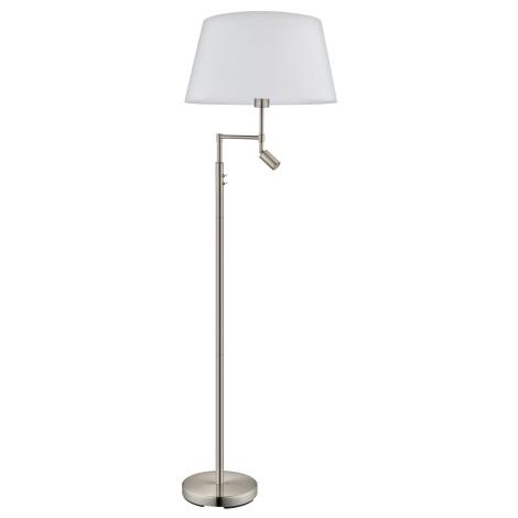 Eglo 94946 - Stojaca lampa SANTANDER 1xE27/60W + 1xLED/2,1W
