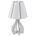 Eglo 94947 - Stolná lampa COSSANO 1xE27/60W/230V