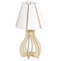 Eglo 94951 - Stolná lampa COSSANO 1xE27/60W/230V
