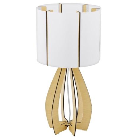 Eglo 94952 - Stolná lampa COSSANO 1xE27/60W/230V