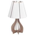 Eglo 94954 - Stolná lampa COSSANO 1xE27/60W/230V