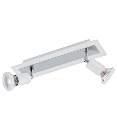 Eglo 94959 - LED Bodové svietidlo SARRIA 2xGU10-LED/5W/230V