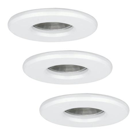 Eglo 94977 - SADA 3x LED Kúpeľňová svietidla IGOA 3xLED/3,3W/230V