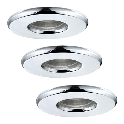 Eglo 94978 - SADA 3x LED Kúpeľňové svietidlo IGOA 3xLED/3,3W/230V