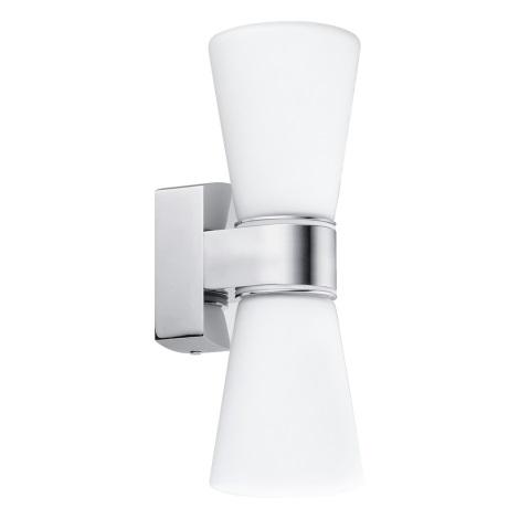 Eglo 94989 - LED Kúpeľňové svietidlo CAILIN 2xLED/2,5W/230V
