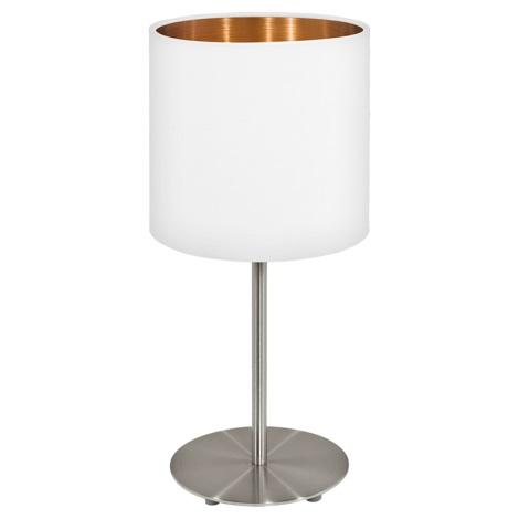 Eglo 95048 - Stolná lampa MASERLO 1xE27/60W/230V