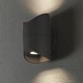 Eglo 95076 - Vonkajšie nástenné svietidlo ABRANTES 2xLED/6W/230V
