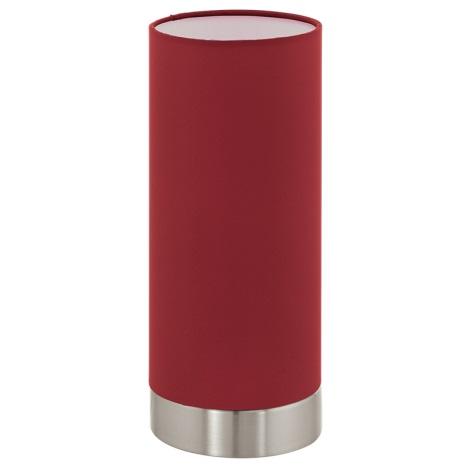 Eglo 95121 - Stmievateľná stolná lampa PASTERI 1xE27/60W/230V