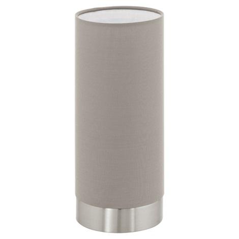 Eglo 95122 - Stmievateľná stolná lampa PASTERI 1xE27/60W/230V