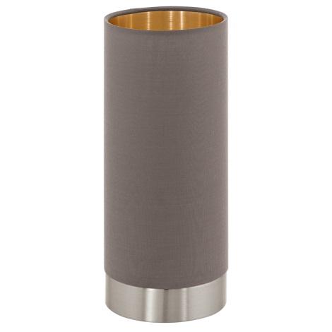 Eglo 95123 - Stmievateľná stolná lampa MASERLO 1xE27/60W/230V