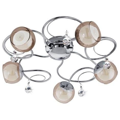 Eglo 95157 - LED stropné svietidlo ASCOLESE 1 5xG9-LED/2,5W/230V