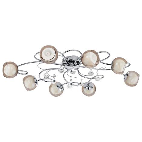 Eglo 95158 - LED stropné svietidlo ASCOLESE 1 8xG9-LED/2,5W/230V