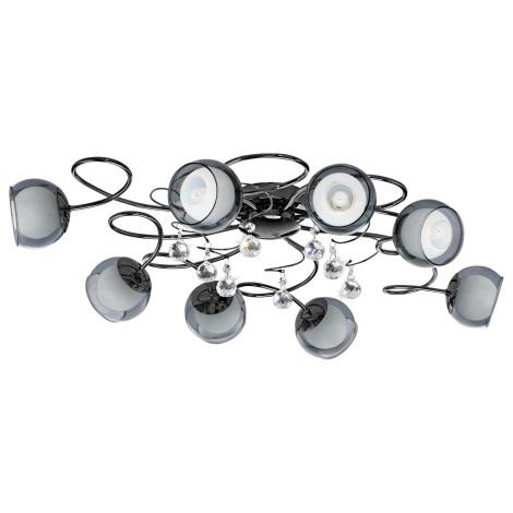 Eglo 95161 - LED stropné svietidlo ASCOLESE 1 8xG9-LED/2,5W/230V
