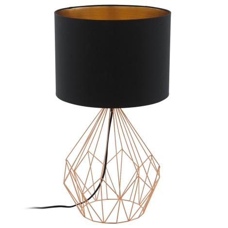 Eglo 95185 - Stolná lampa PEDREGAL 1xE27/60W/230V