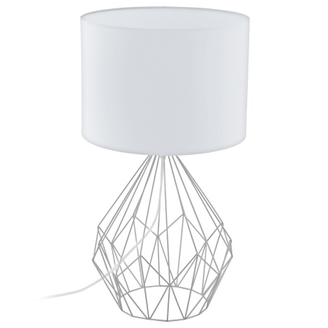 Eglo 95187 - Stolná lampa PEDREGAL 1xE27/60W/230V