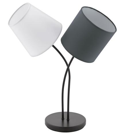Eglo 95194 - Stolná lampa ALMEIDA 2xE14/40W/230V