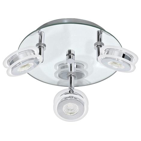 Eglo 95279 - LED Bodové kúpeľňové svietidlo AGUEDA 3xLED/3,3W/230V
