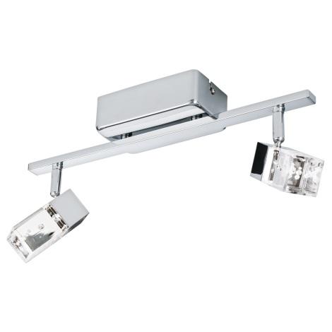 Eglo 95293 - LED Bodové svietidlo CANTIL 2xLED/3,3W/230V