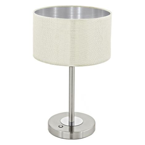 Eglo 95334 - LED Stolná lampa ROMAO 1 LED/12W/230V