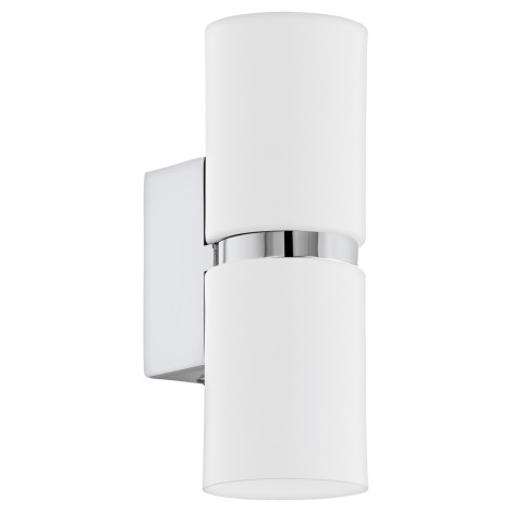 Eglo 95368 - LED Nástenné svietidlo PASSA 2xGU10-LED/4W/230V